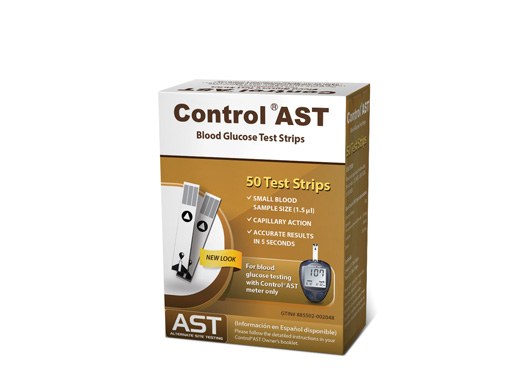 Control® Test Strips - Box of 50